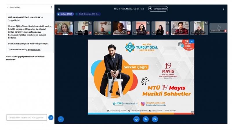MTÜ'den  online 19 Mayıs etkinliği ve konseri