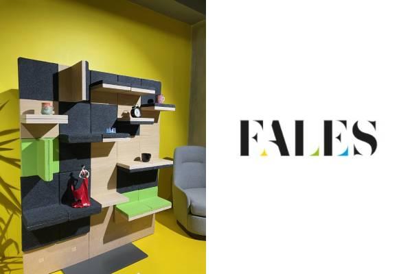 Ofislerde akustik ses düzenine renkli ve kullanışlı çözüm: Fales Resif