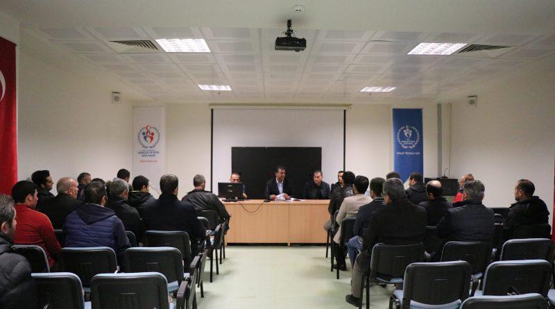 Okul Sporları Bilgilendirme Toplantısı Yapıldı