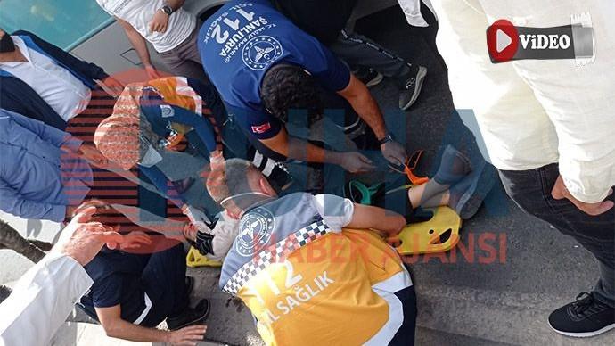 Ölüm kavşağında yine kaza: Halk otobüsü kadına çarptı