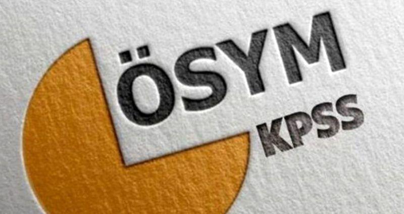 ÖSYM KPSS lisans sonuçlarını açıkladı