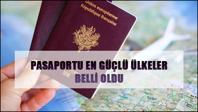 Pasaportu En Güçlü Ülkeler Belli Oldu