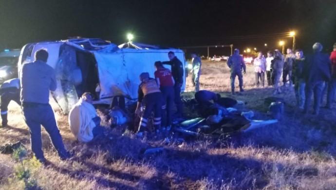 Patnos'ta trafik kazası: 3 ölü