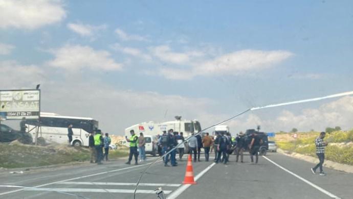 Polis HDP Heyetinin Halfeti'ye Girmesine izin vermedi