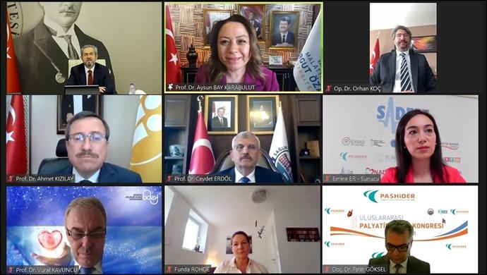 Rektör Karabulut, 2. Uluslararası Palyatif Bakım Kongresi'ne katıldı