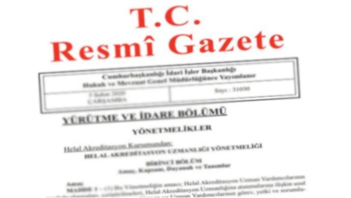 Resmi Gazete başlıkları