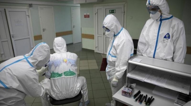 Rusya'da can kaybı 10 bini aştı