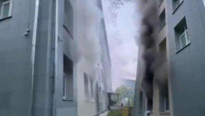 Rusya'da hastane yangınında 1 kişi öldü