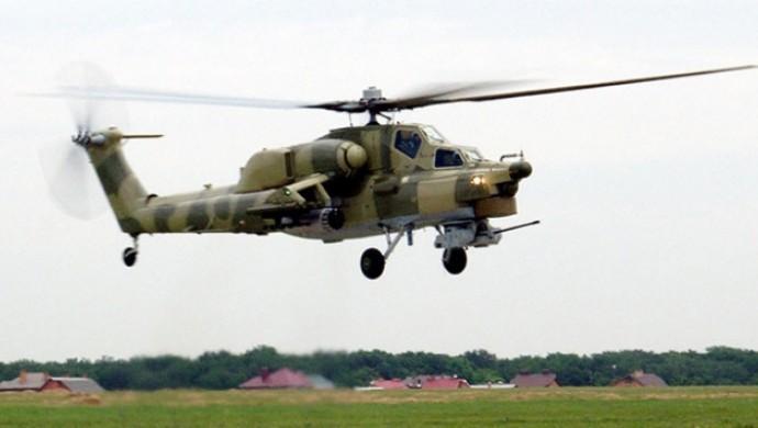 Rusya'da helikopter düştü:1 ölü