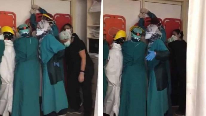 Sağlıkçılara saldıranlardan 2'si tutuklandı