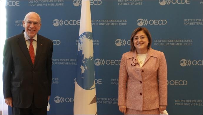 Şahin'den OECD'ye Biz Hazırız Mesajı