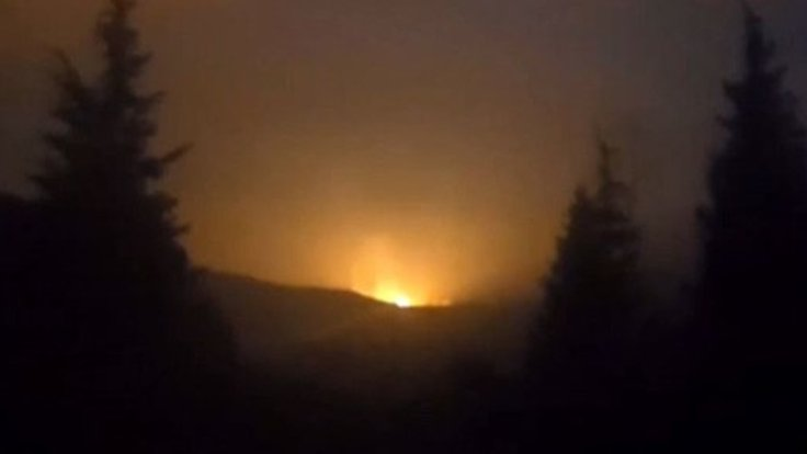 Sakarya'da Gaz Hattında Patlama