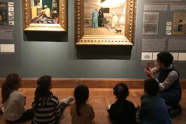 Sakıp Sabancı Müzesi'nde çocuk olmak