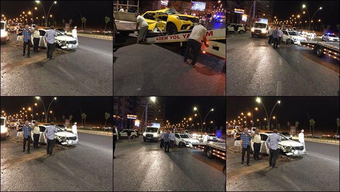 Şanlıurfa-Diyarbakır Yolunda Zincirleme Kaza