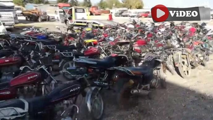 Şanlıurfa Emniyeti'nden dev operasyon: 700 bin TL'lik çalıntı motosiklet yakalandı