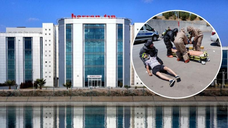 Şanlıurfa Harran Üniversitesi Hastanesinde Gerçeği Aratmayan Yangın Tatbikatı