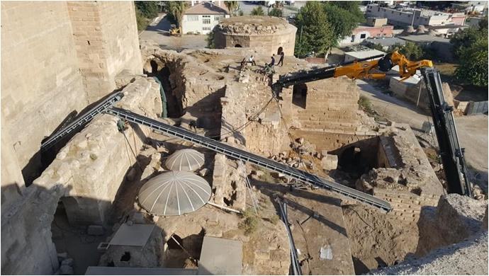 Şanlıurfa-Harran'da kazı çalışmaları hızlandırıldı