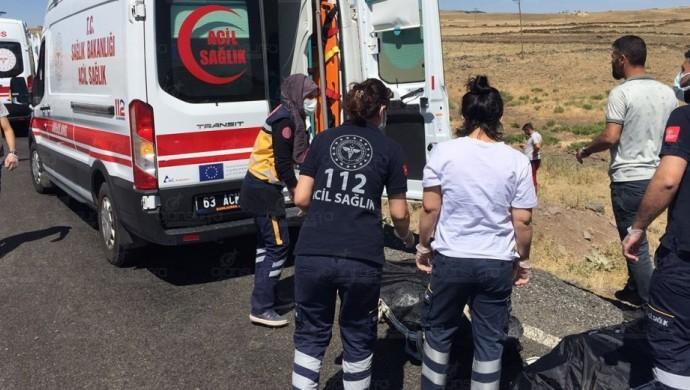 Şanlıurfa-Siverek'te trafik kazasında 5 kişi yaşamını yitirdi