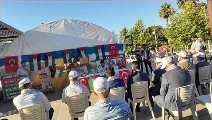 Şanlıurfa STK'ları Kudüs Çadırı Kapanış Programı Gerçekleştirdi