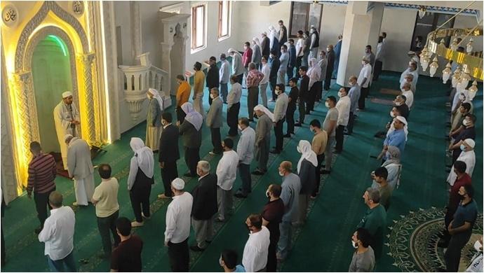Şanlıurfa ve İlçelerinde Filistinliler için gıyabi cenaze namazı kılındı