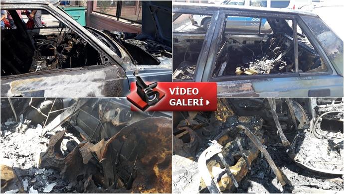 Şanlıurfa'da 2 araç kundaklandı