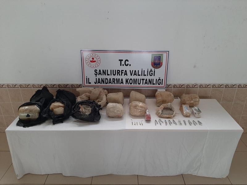 Şanlıurfa'da 97 Kilo Tnt Patlayıcı Ele Geçirildi
