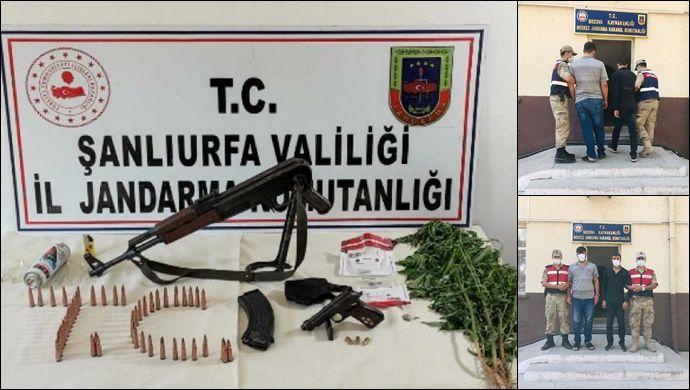 Şanlıurfa'da Drone Destekli Uyuşturucu Operasyonu!-(VİDEO)