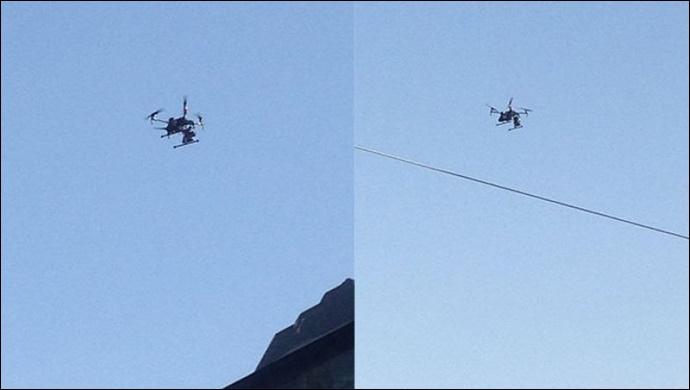 Şanlıurfa'da 'drone'li trafik denetimi
