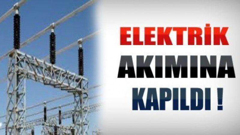 Şanlıurfa'da elektrik akımına kapılan işçi ağır yaralandı