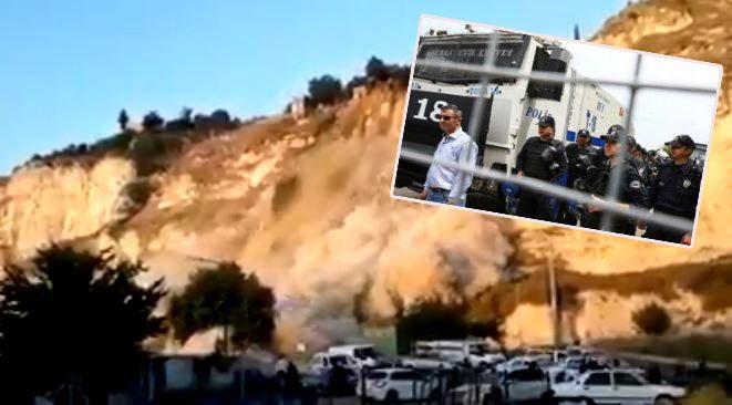 Şanlıurfa'da esnaf yolu trafiğe kapattı