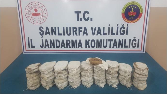 Şanlıurfa'da  Esrar Operasyonu:1 Gözaltı