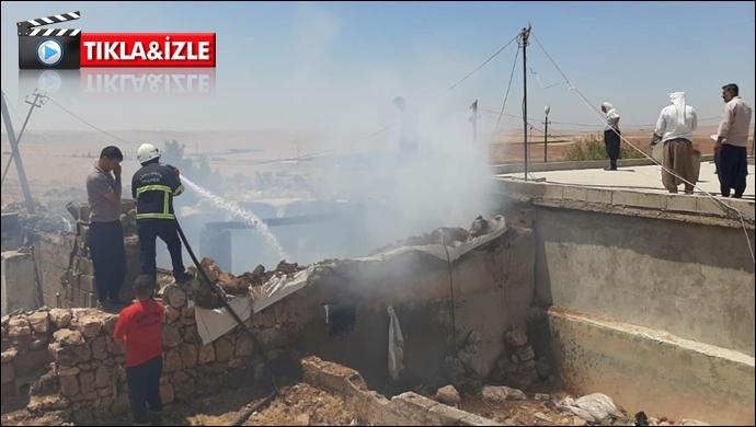 Şanlıurfa'da  ev yangını: İtfaiye müdahale etti