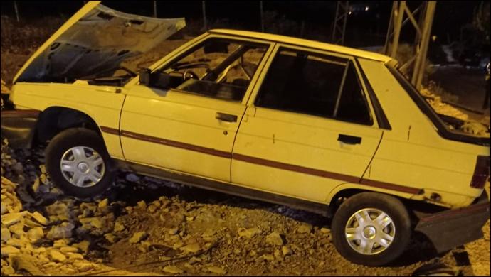 Şanlıurfa'da iki otomobil çarpıştı: Yaralı yok maddi hasar var-(VİDEO)