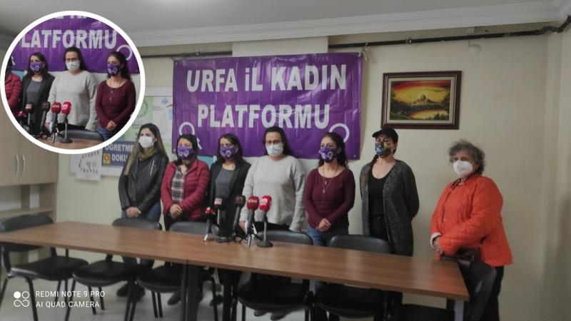 Şanlıurfa'da İstanbul Sözleşmesi'nden çekilme kararına tepki !