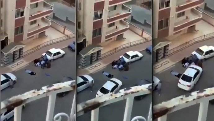 Şanlıurfa'da Kavga ettiği kişileri otomobil ile ezmek istedi