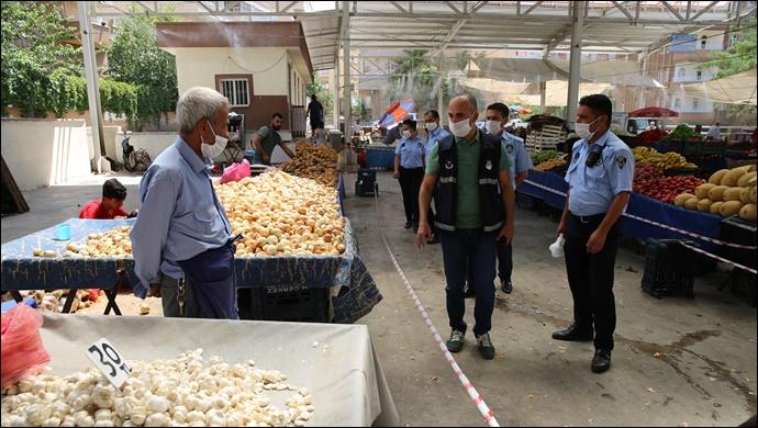 Şanlıurfa'da Kurulacak Pazar Yerleri ve Alınacak Tedbirler Belirlendi