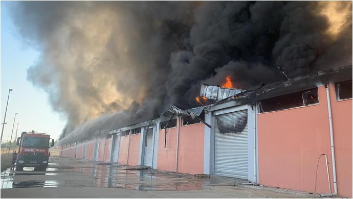 Harran Üniversitesi'nde yangın!