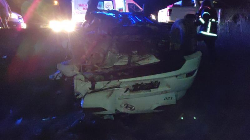 Şanlıurfa'da otomobil şarampole devrildi: 3 ölü, 1 yaralı