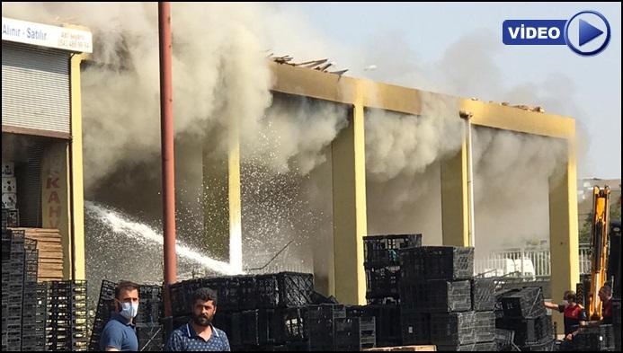 Şanlıurfa'da patlama ve yangın: 3 yaralı var!