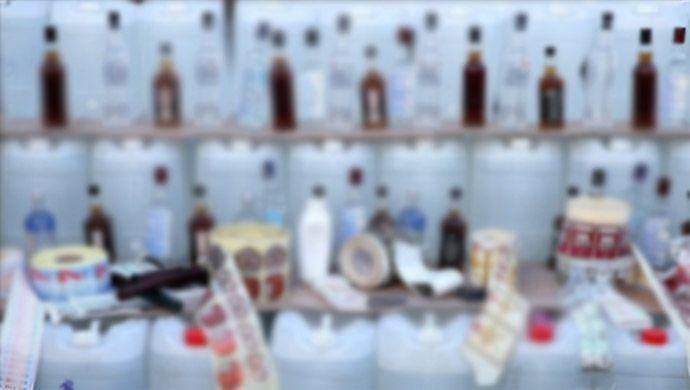 Şanlıurfa'da Sahte İçki Operasyonu: 3 Gözaltı