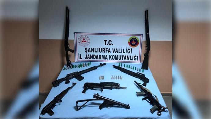Şanlıurfa'da silah kaçakçılarına geçit yok!- (VİDEO)