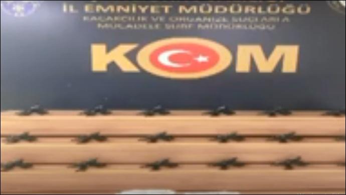 Şanlıurfa'da silah kaçakçılığı operasyonu! -(VİDEO)