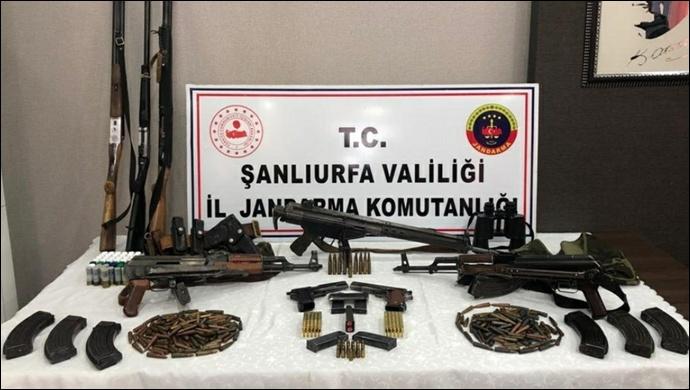 Şanlıurfa'da Silah Kaçakçılarına Operasyon-(Video)