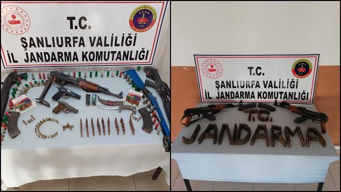 Şanlıurfa'da Silah Operasyonu: 2 Tutuklama