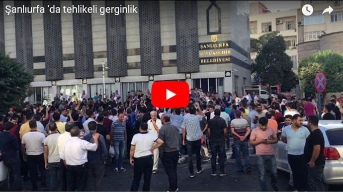 Şanlıurfa'da Suriyeli mülteciler yönelik gerginlik devam ediyor