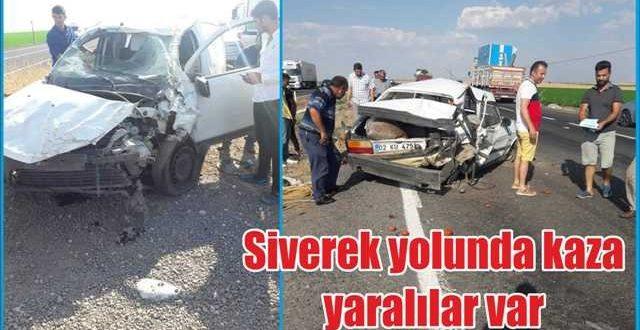Şanlıurfa'da Trafik Kazası:2 Yaralı
