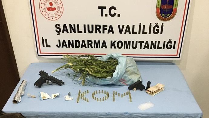 Şanlıurfa'da uyuşturucu operasyonu 3 tutuklama