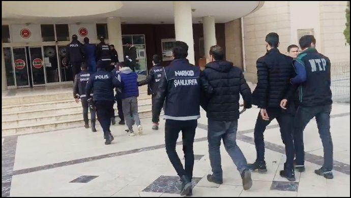 Şanlıurfa'da Uyuşturucu Operasyonu: 15 Tutuklama-(Vido)