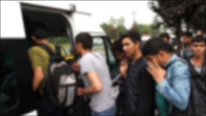 Şanlıurfa'dan yurda girmişler! 7 Suriyeli yakalandı