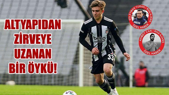 Şanlıurfalı hocanın elinden Beşiktaş'a, Beşiktaş'tan Milli Takım'a